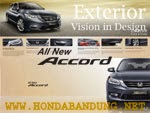 Eksterior Mobil All New Honda Accord