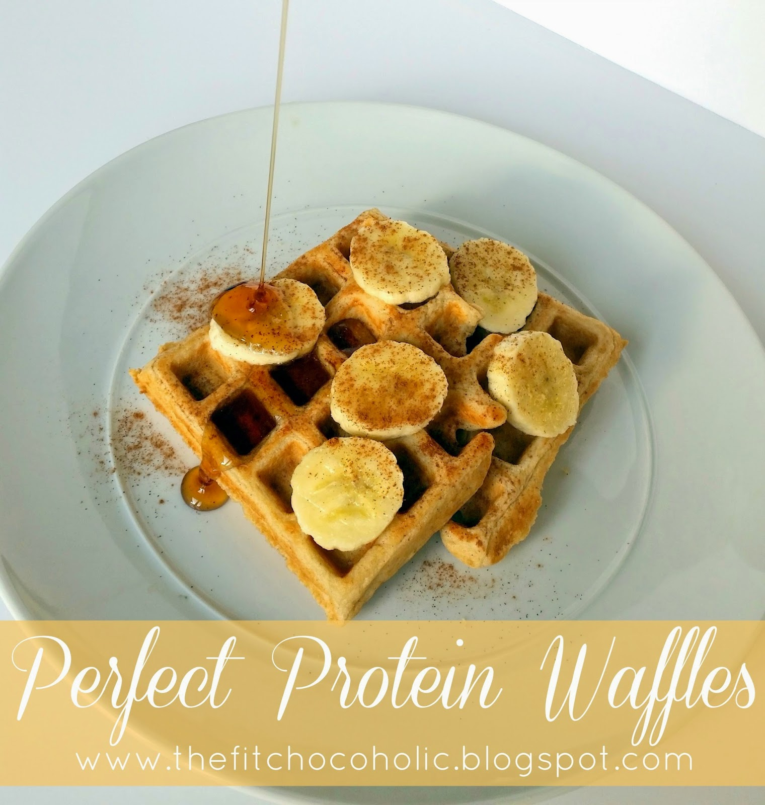Perfect Protein Waffles