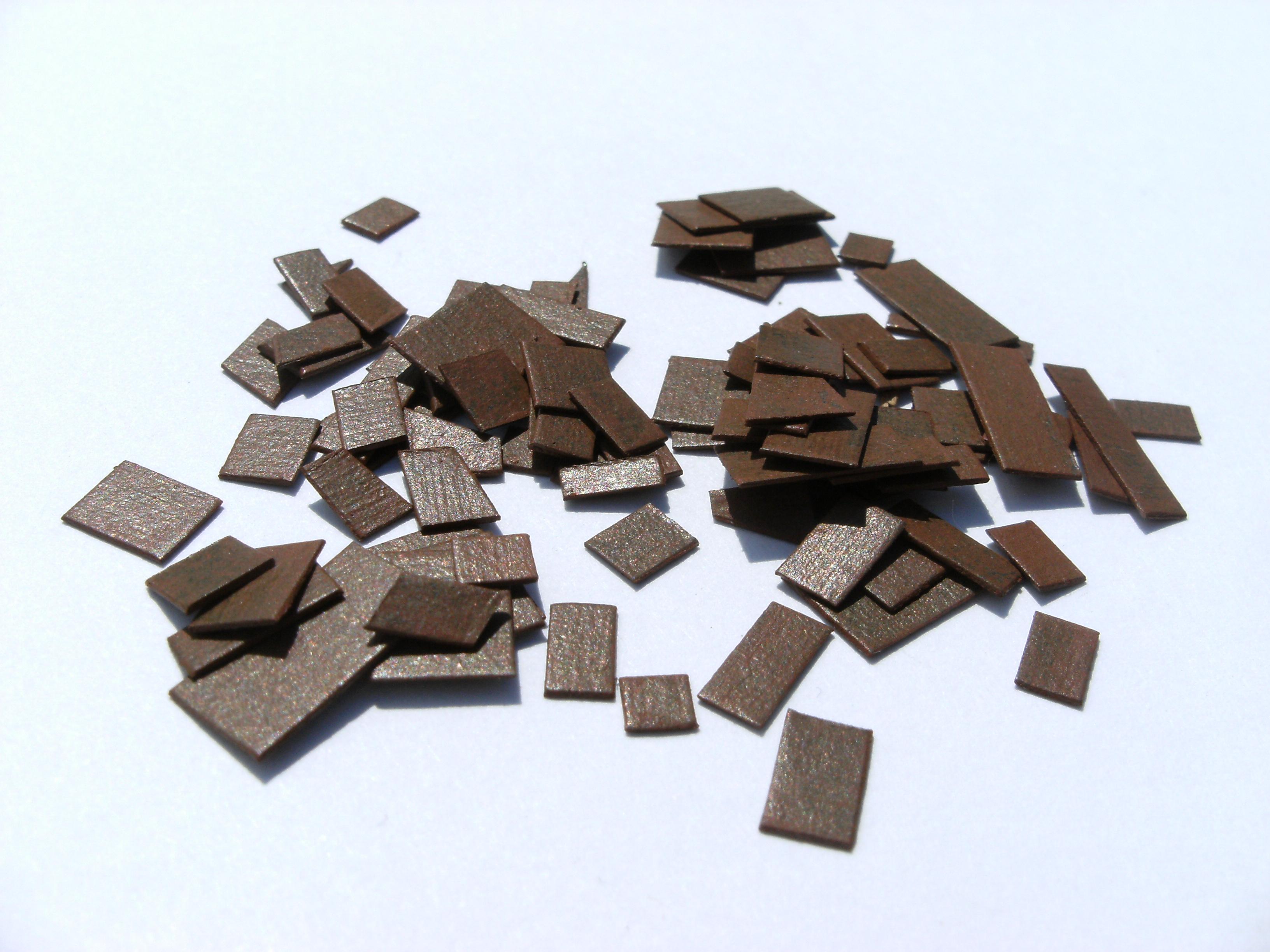 Gauge Model Railway Layout Detail Part 7 Imitation Scrap MetalSheet  title=
