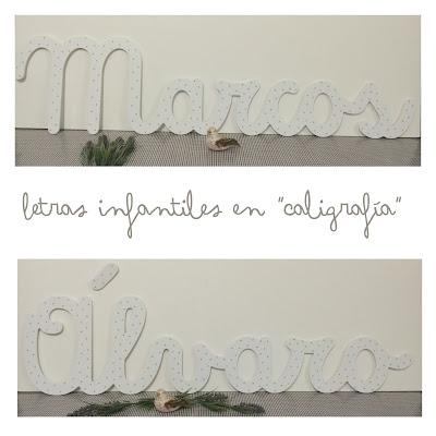 letras-infantiles-caligrafía-decoración