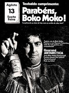 refrigerante guaraná Antarctica 1971,  os anos 70; propaganda na década de 70; Brazil in the 70s, história anos 70; Oswaldo Hernandez;