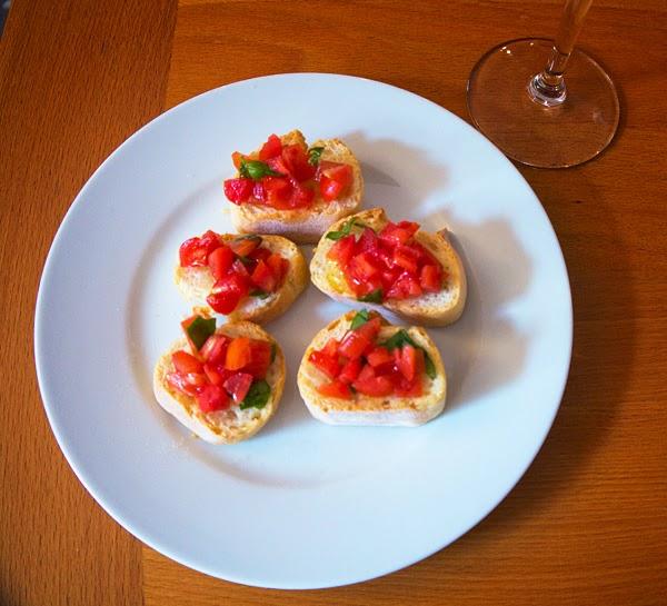 bellagio cooking class bruschetta