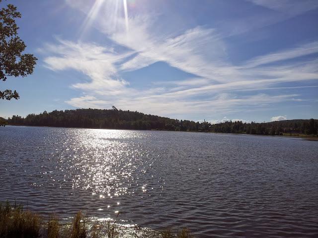 Lake in Falun