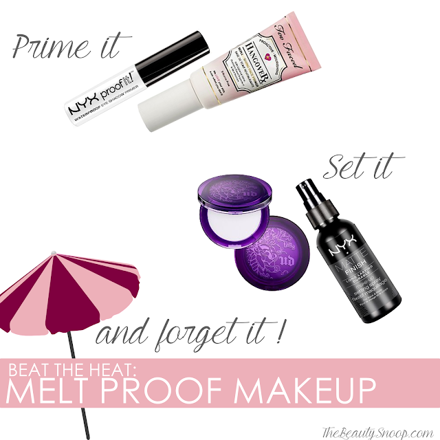 Makeup in heat and humidity, Melt proof makeup tips