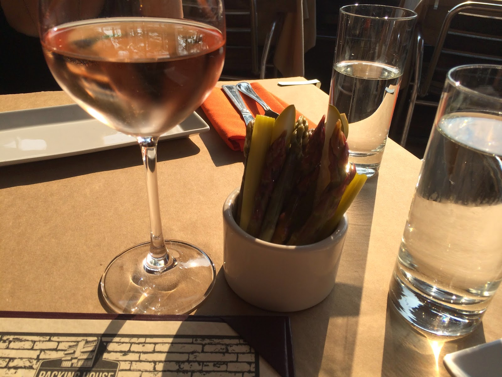 Packing House - Chicago - Rose Wine - Homemade Pickles