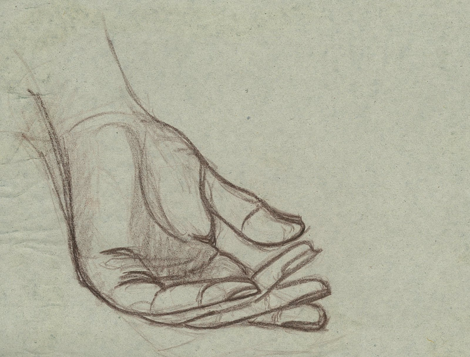 D Line Drawing Hand : Kris art works hand line drawing