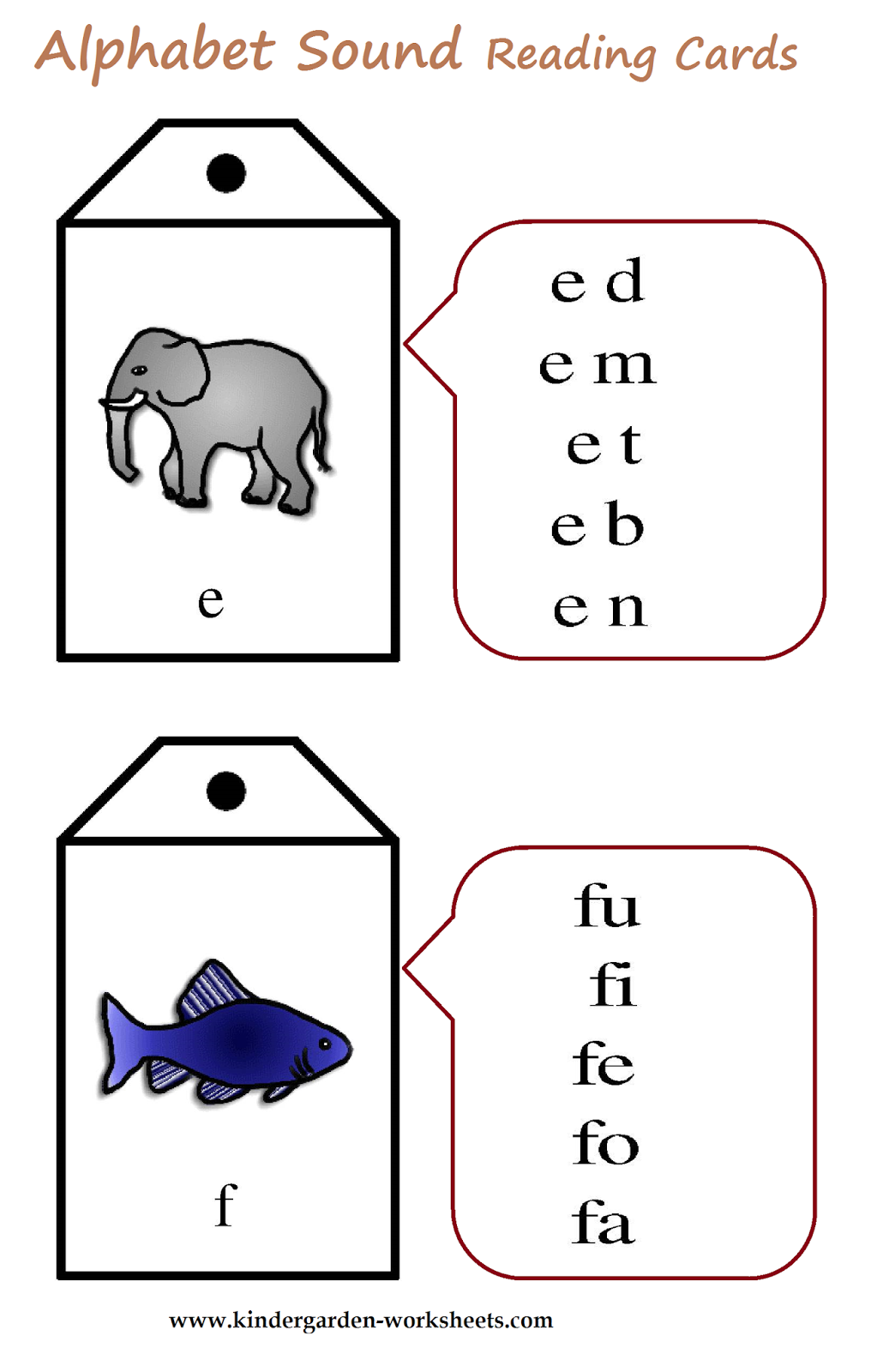 math worksheet : kindergarten worksheets alphabet sound read cards : T Worksheets For Kindergarten