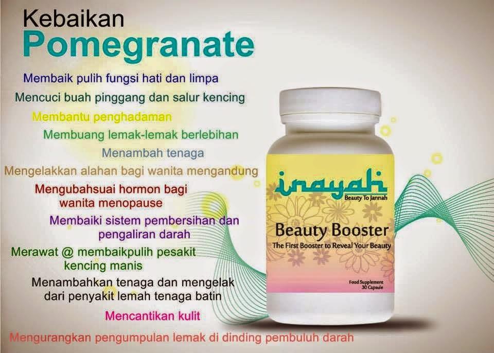 Menjual Produk Kecantikan Dan Kesihatan : INAYAH BEAUTY BOOSTER ...