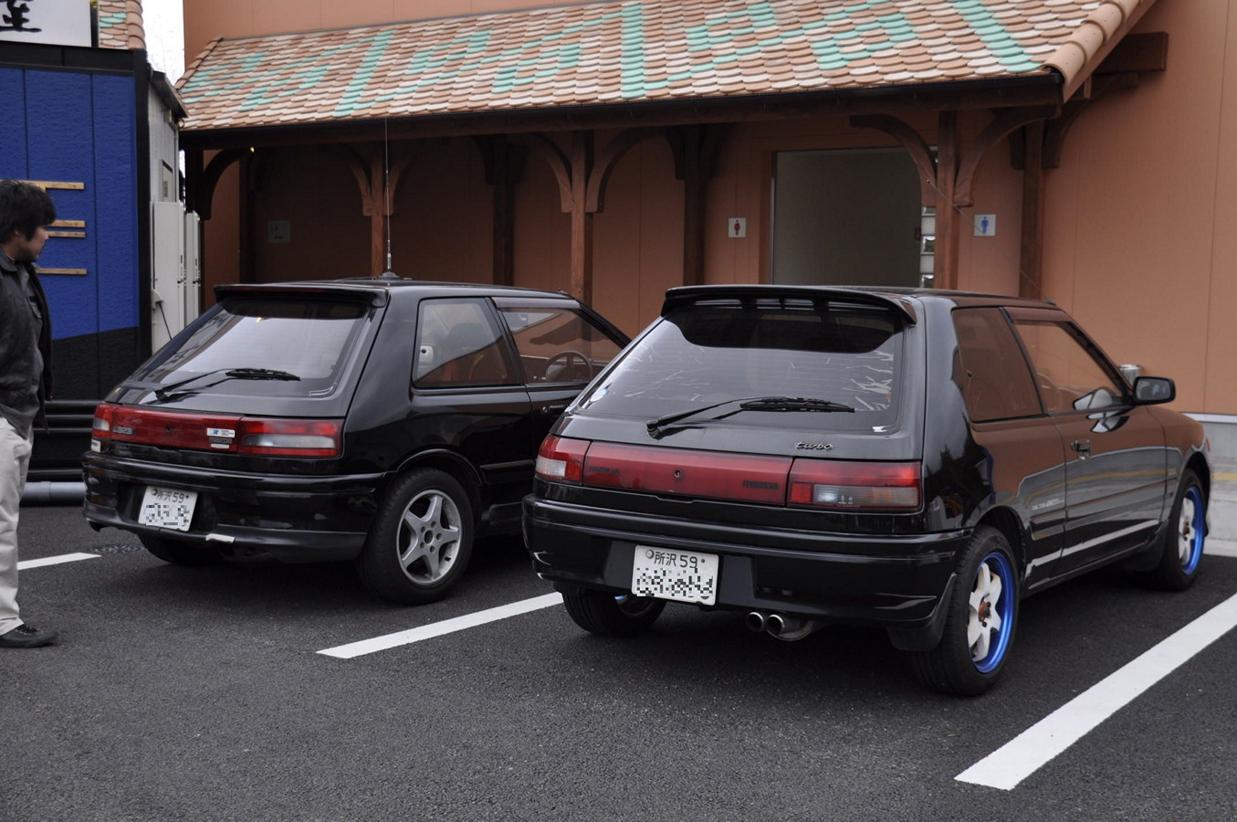Mazda 323 BG, hothatchback, japoński, z lat 90, sportowe, turbo, tuning, JDM, fotki, galeria