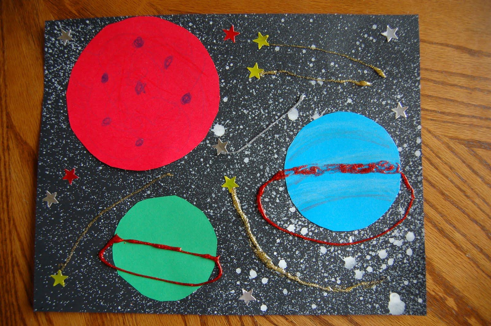 easy solar system craft - photo #21