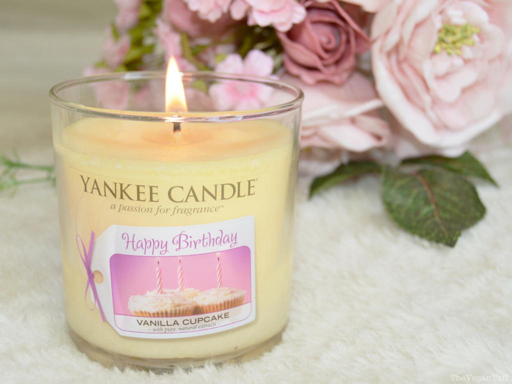 Yankee Candle Happy Birthday Review The Vegan Taff
