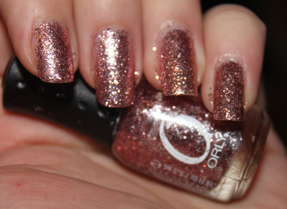 Glitter Nails From Orly