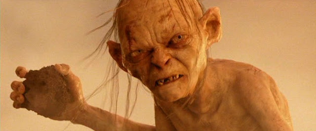 Mordor ~ The Land of Shadow.com: Our first really good ... Gollum Falling Into Mount Doom