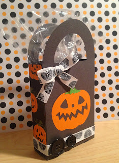 Cricut, Wrap It Up, Halloween Treat Box