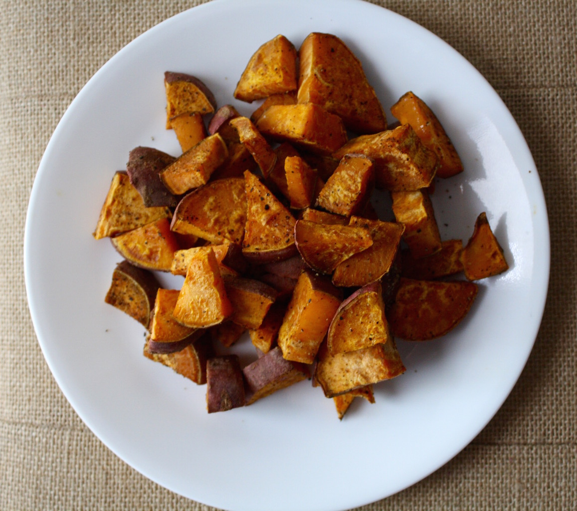 The Best Roasted Sweet Potatoes - Countdowns and Cupcakes