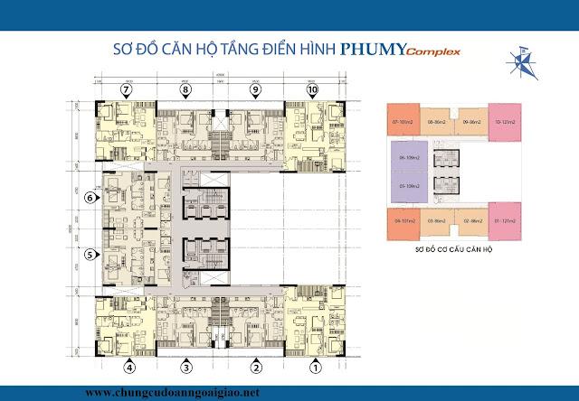 thiết kế căn hộ n01t4 ngoại giao đoàn PHUMYCOMPLEX