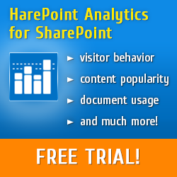 HarePoint SharePoint Analytics