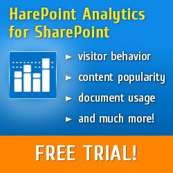 HarePoint SharePoint Analytics