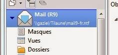 Ouvrir la base de mail