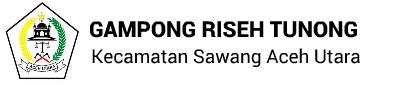 Gampong Riseh Tunong : Website Resmi Desa