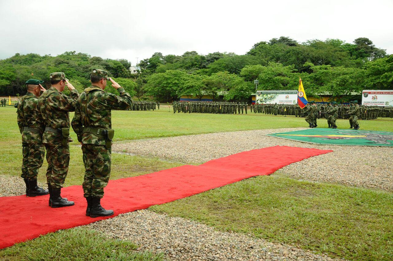 2.074 nuevos militares apoyarán las operaciones militares a lo largo y ancho del territorio nacional.