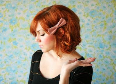 penteado com laço