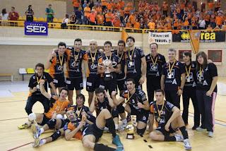 VOLEIBOL-CAI Teruel consigue todo en el 2012