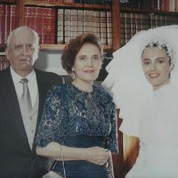 Renata e seus pais