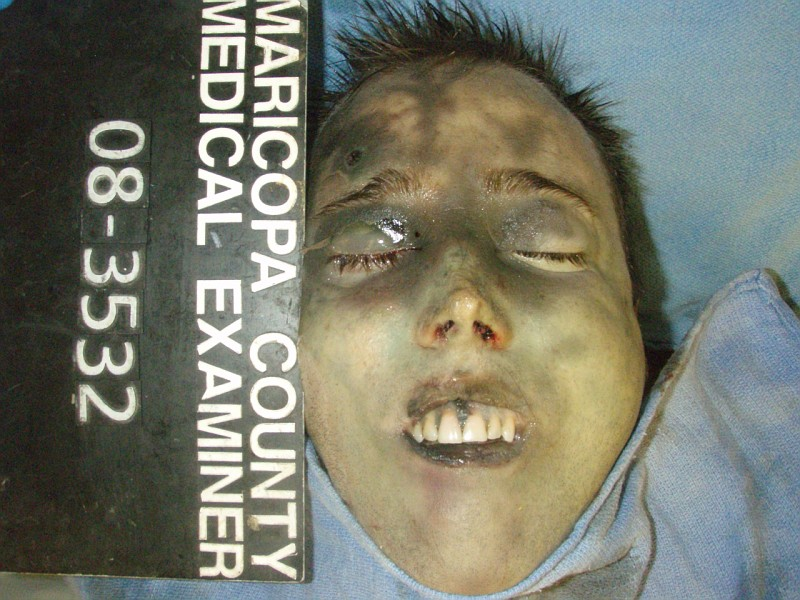 Jodi Arias Travis Alexander Crime Scene