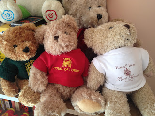 A range of teddy bears