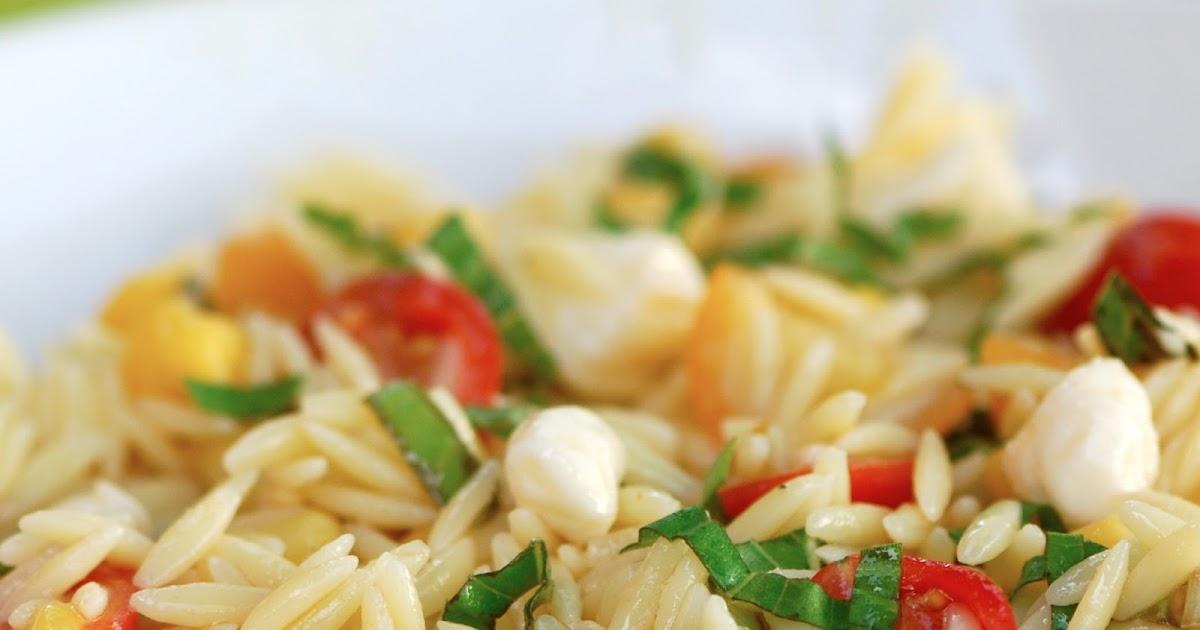 The Walsh CookbookCaitys Summer Orzo SaladErin