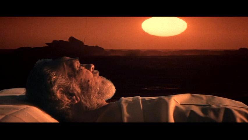 Edward G. Robinson dans Soleil Vert, de Richard Fleischer (1973)