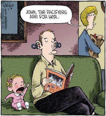 Funny Dad Cartoon