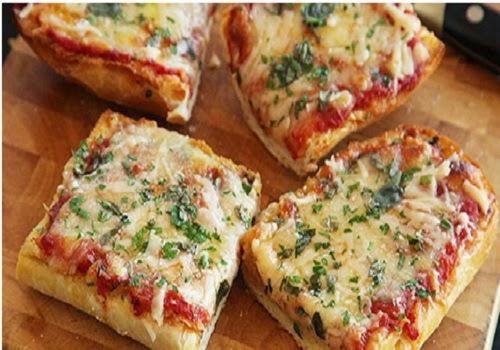 cara memasak pizza mini roti tawar sederhana