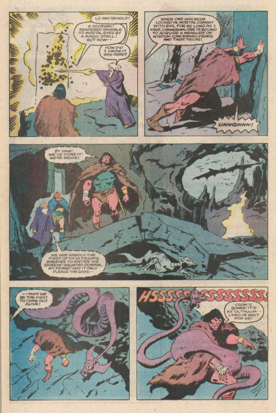 Conan the Barbarian (1970) Issue #170 #182 - English 18