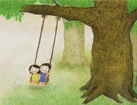 ชิงช้าต้นไม้