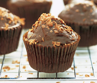 Super Easy Chocolate Muffins