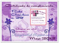 Certificado de Cumplimiento 29