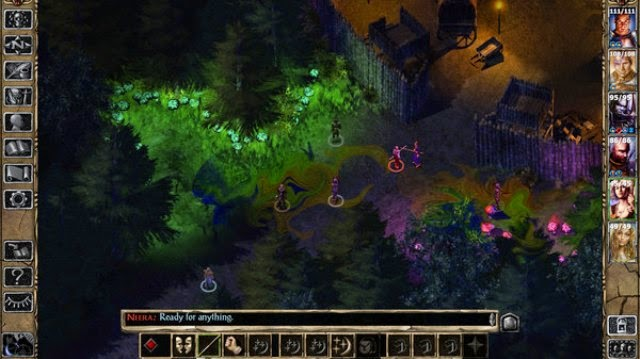 Baldur's Gate 2 PC Games Gameplay