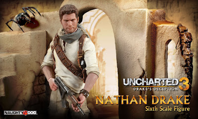 "Sideshow Collectibles 1/6 Scale Uncharted 12"" Nathan Drake Figure (preview)"