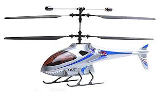 Silver Color E-Sky LAMA V4 RTF Coaxial RC HelicopterHelicopter