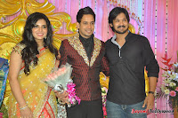 Celebraties at Actor Bharat n Jessy Wedding Reception Photos+%2528129%2529 Actor Bharath n Jessy Wedding Photos