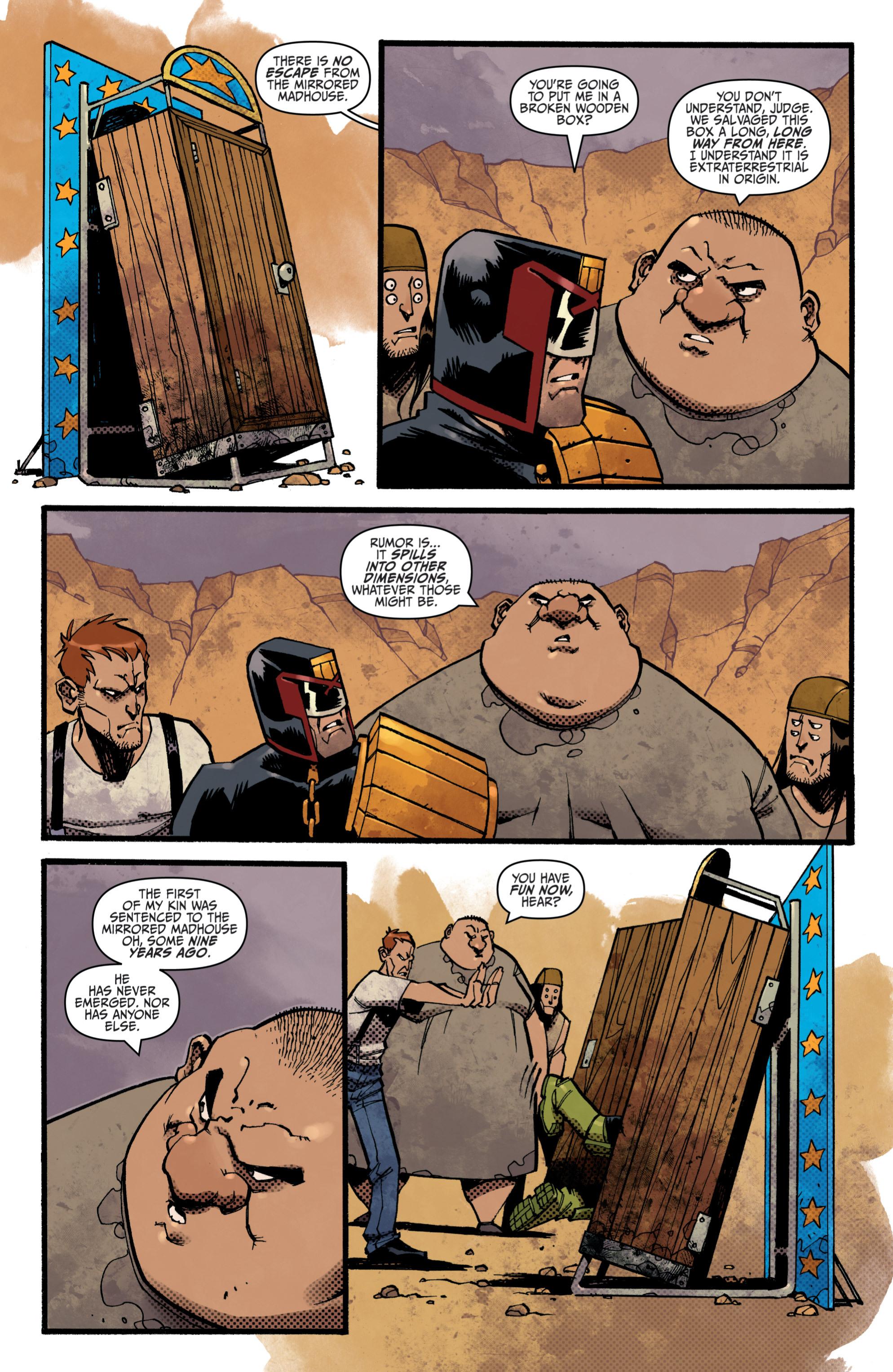 Read online Judge Dredd (2012) comic -  Issue # _TPB 3 - 22
