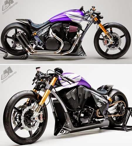 Gambar Motor Drag Futuristik