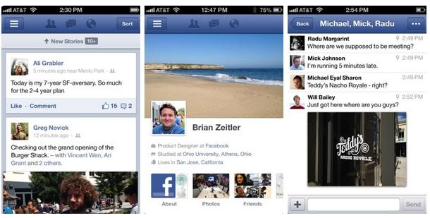 Facebook App Store iOS 6