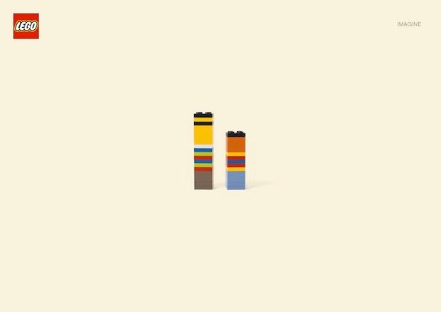 Nueva campaña Lego Jung Von Matt. Epi y Blas