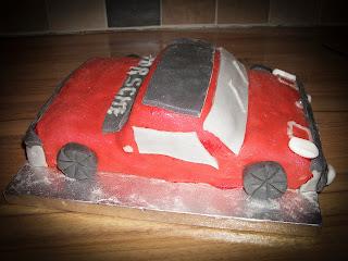 VW Porsche cake