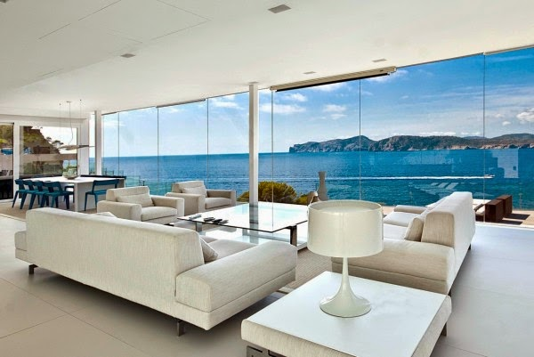 Mallorca home sea view islas baleares espa a arquitexs for A r salon hermosa beach