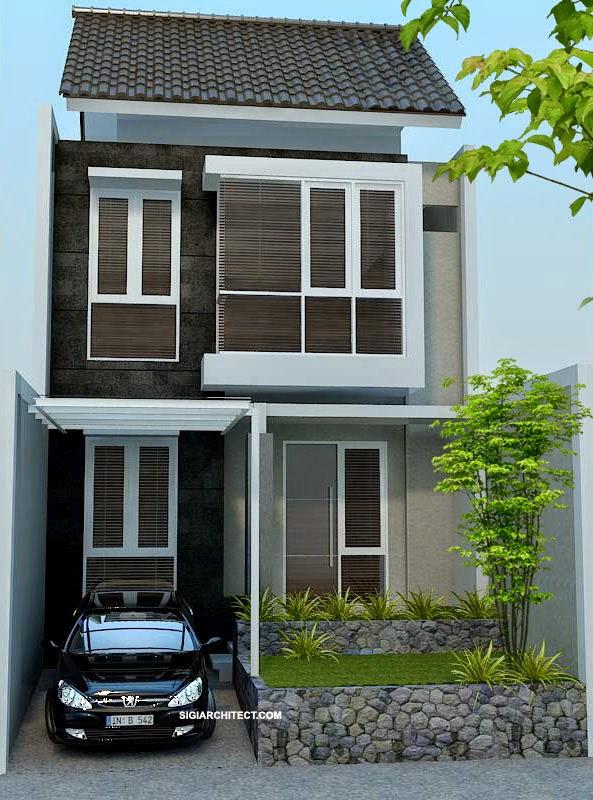 RAB Rumah Minimalis 2 Lantai