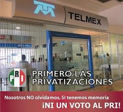 PRImero las privatizaciones